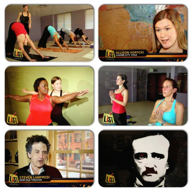 11/14/12: Loosen up with Charm City Yoga & Poe Toasters ...