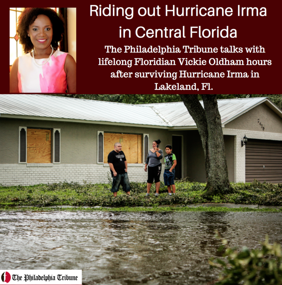 09/11/17: AUDIO: Riding out Hurricane Irma in Central Florida