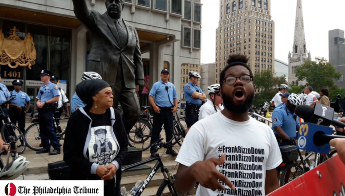 09/14/17: 'Tear Down Rizzo' statue protestors call for police reform