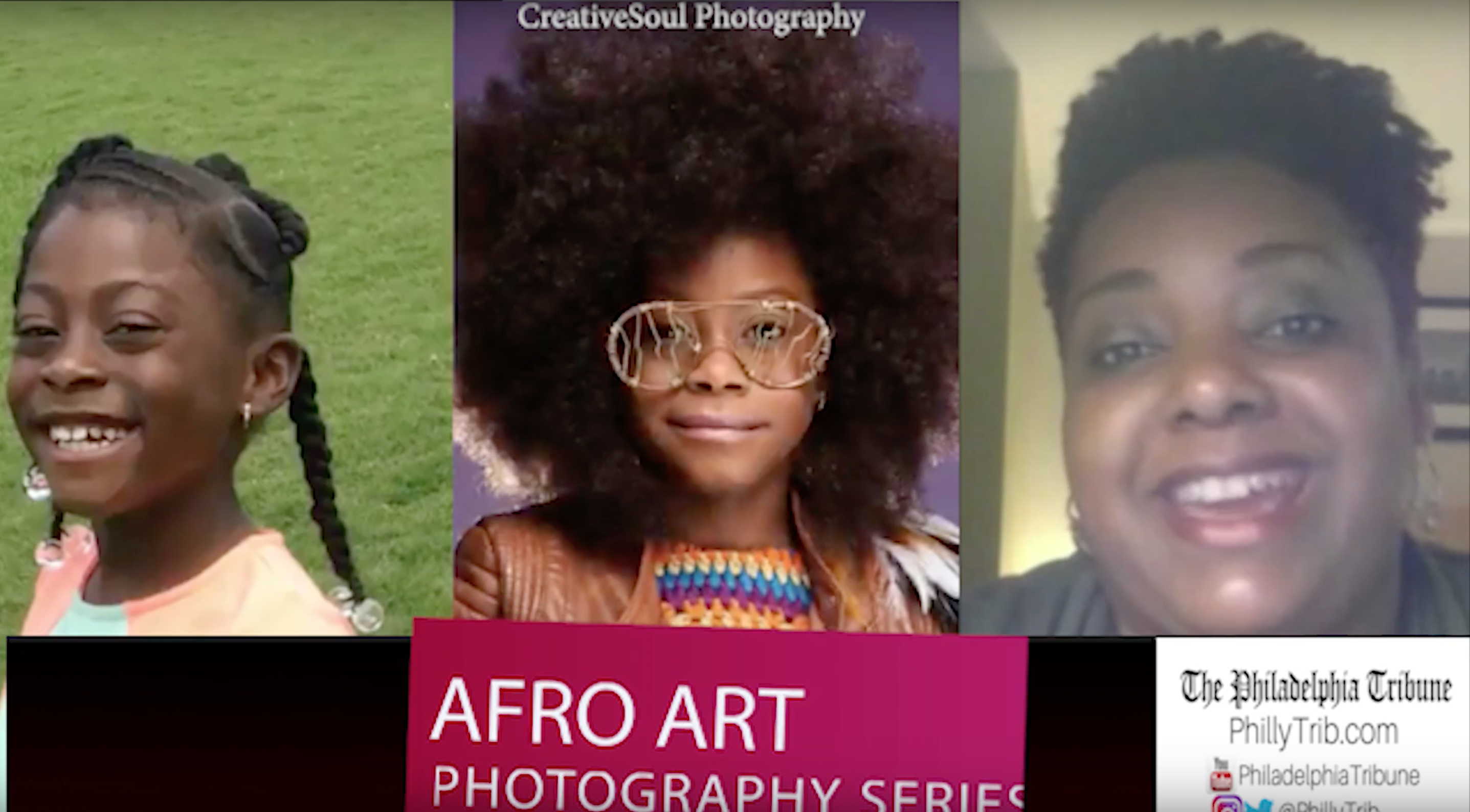 11/26/17: 'AfroArt' series highlights natural hair pride