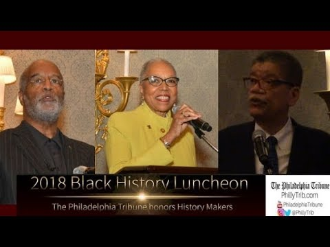 02/15/18: The Philadelphia Tribune honors History Makers at 2018 Black History Luncheon
