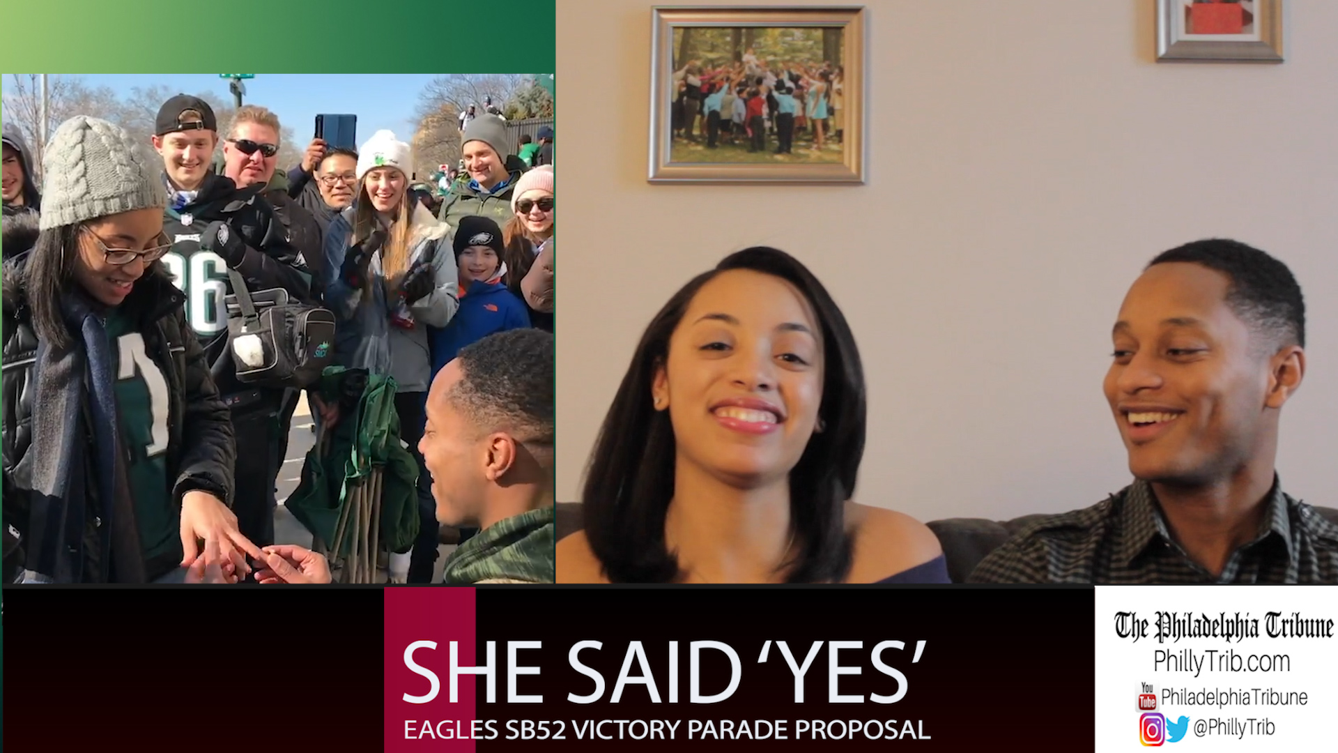 02/09/18: She said 'yes' : Eagles Super Bowl victory parade proposal