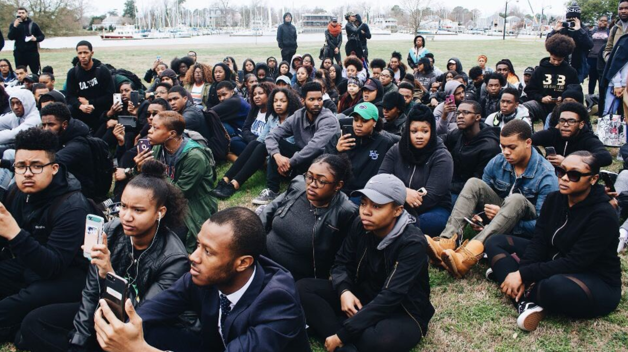 03/02/18: Hampton Univ. students launch #HopeForHampton protest
