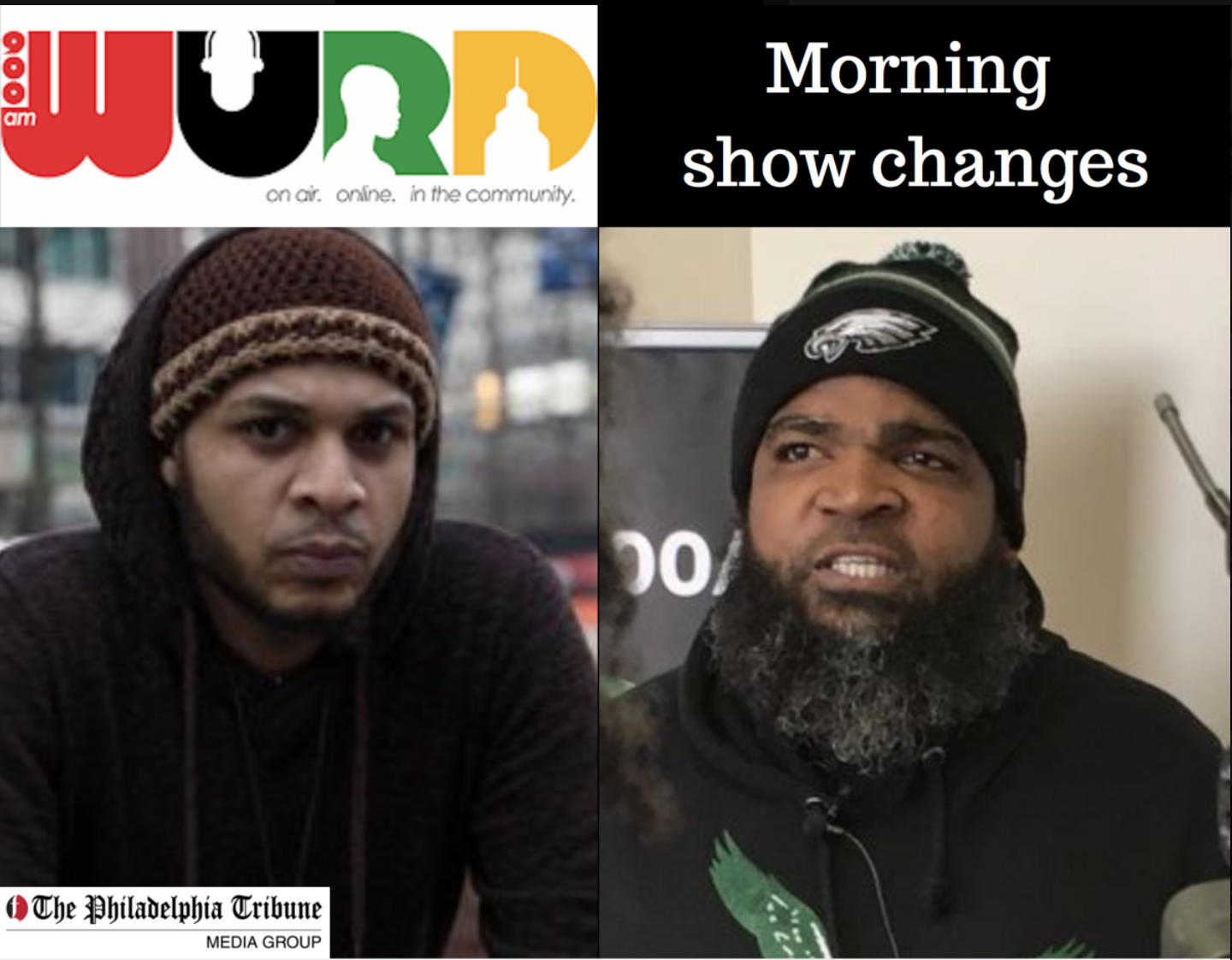 04/25/18 : WURD Radio changes morning show hosts again
