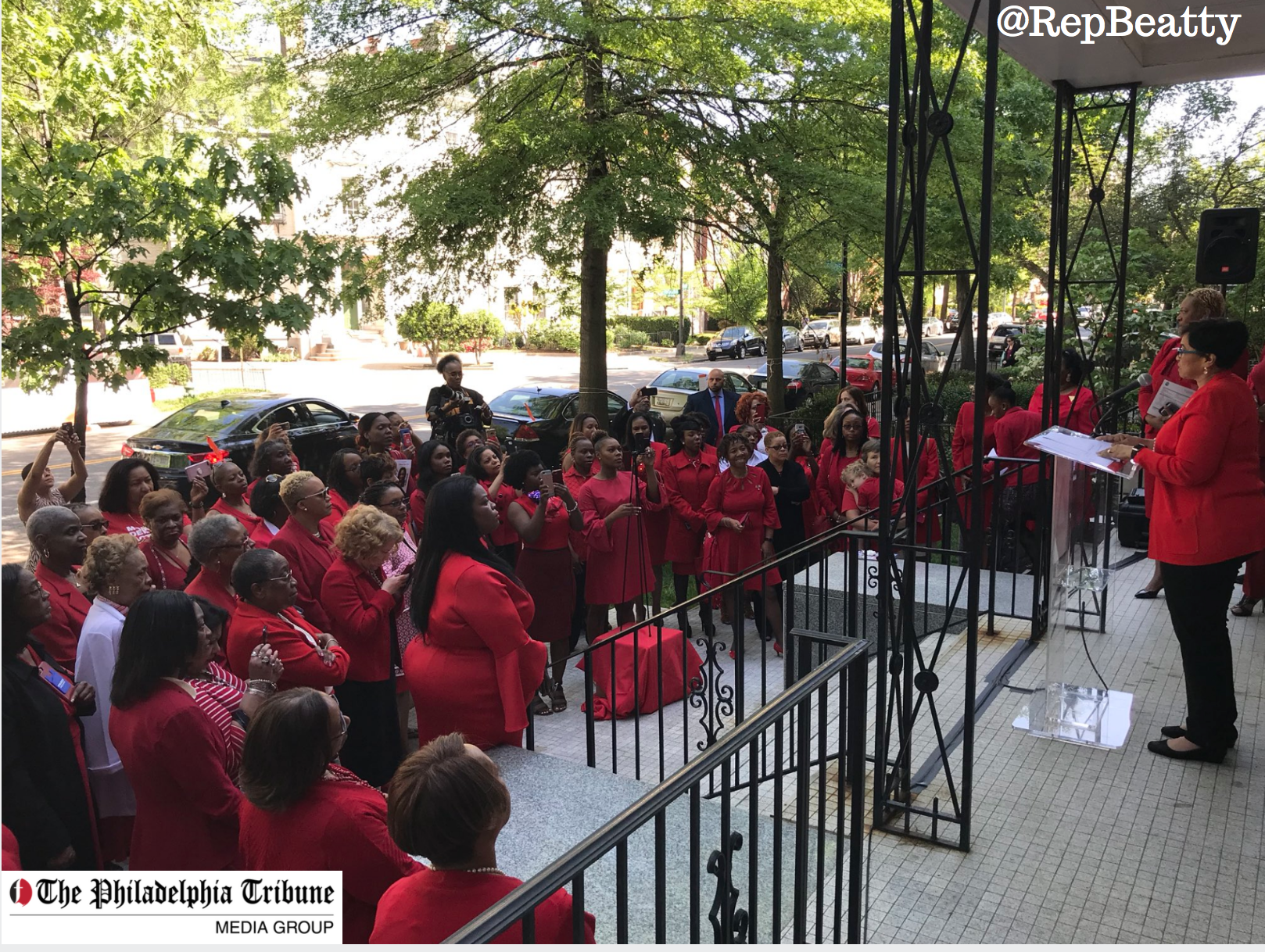 05/09/18 : Delta Sigma Theta calls for national gun reform