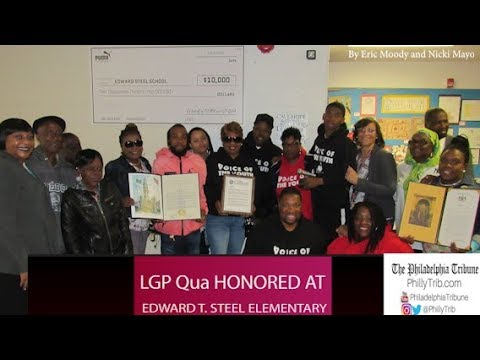 05/01/18 : Rapper LGP Qua honored at Philly's Edward T. Steel Elementary