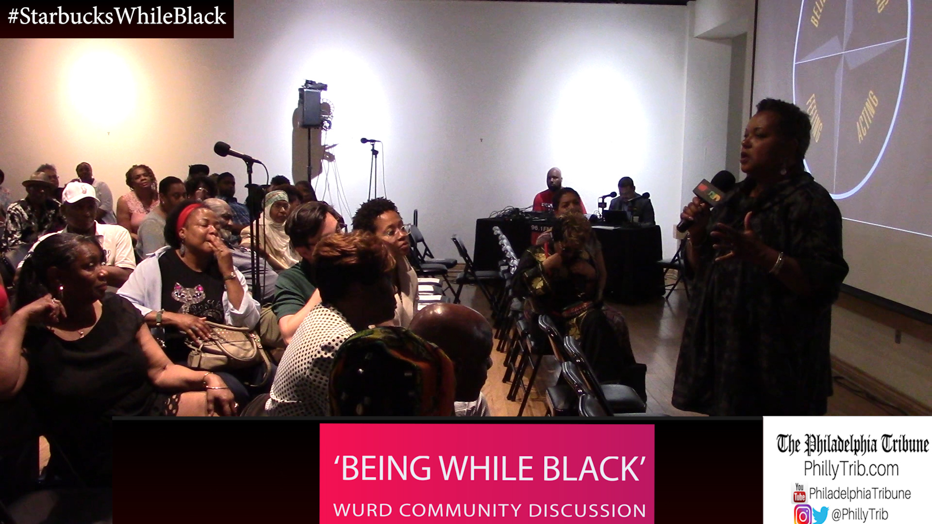 05/31/18 : #StarbucksWhileBlack prompts 'Being While Black' WURD Radio community discussion